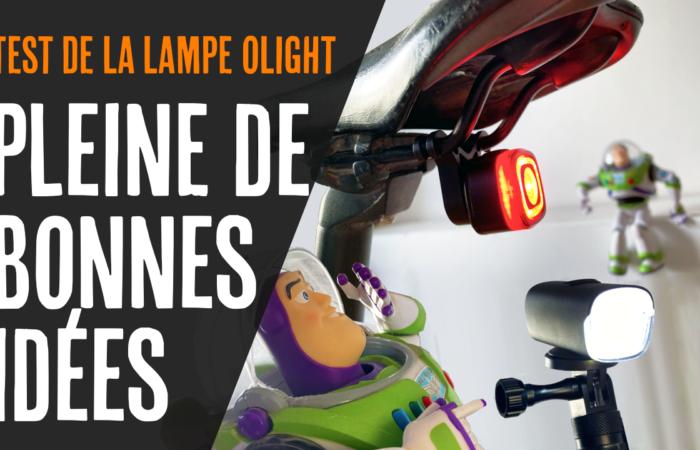 UNE LAMPE PLEINE DE BONNE IDÉES (Test de la lampe Olight RN 120 et RN 400)