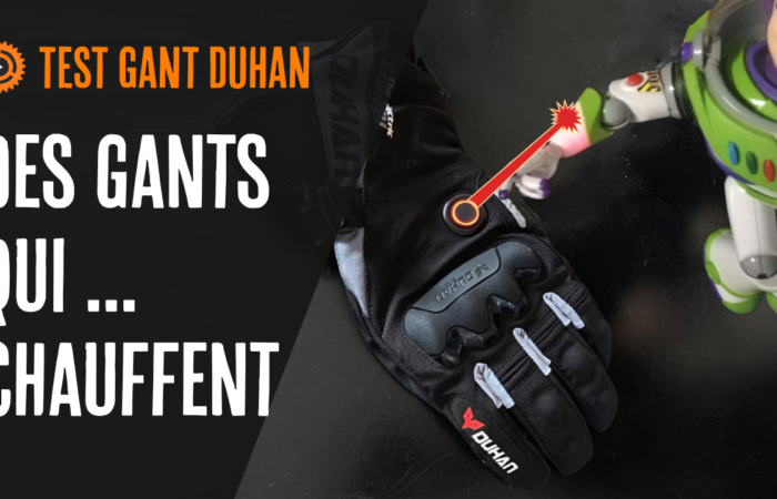 Test de gant issyzone Duhan