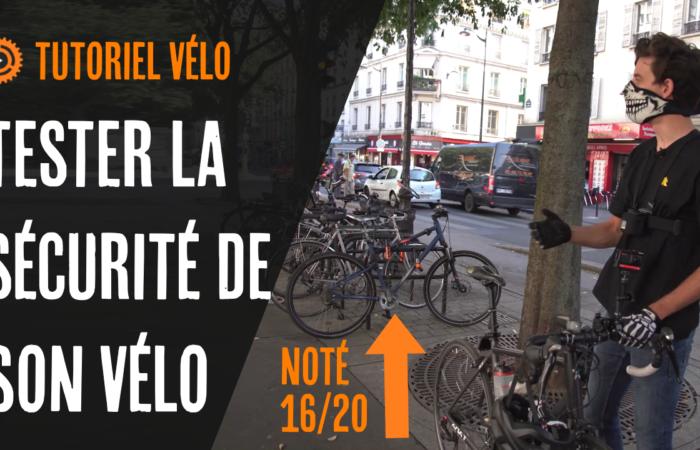TESTER LA SÉCURITÉ 🔒 DE SON VÉLO (tutoriel vélo)