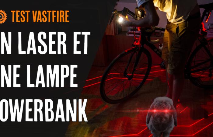 Un laser et une lampe powerbank (présentation de VASTFIRE + un concours!)