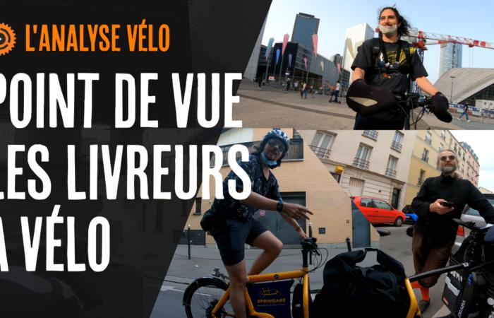 Point de vue les livreurs à vélo (analyse vélo)