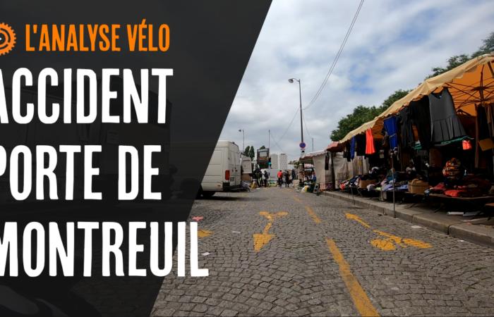 La place de Montreuil – (analyse d'un accident avec une cycliste porte de Montreuil)